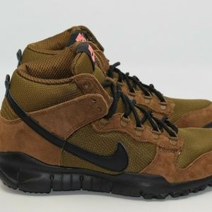 Nike SB Dunk High Boot Military Brown Size 11